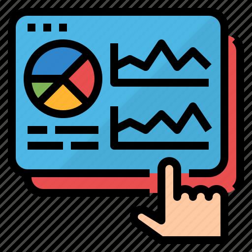 analysis, marketing, process, seo icon