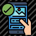 app, friendly, mobile, responsive, smartphone icon