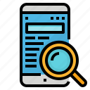 app, engine, mobile, search, website icon
