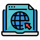 business, company, page, website icon