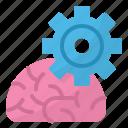 algorithms, flow, marketing, process, seo icon