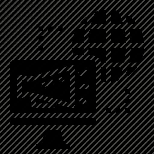 advertising, computer, internet, marketing icon