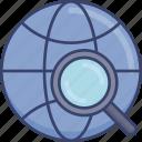 find, internet, magnifier, online, search