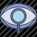 eye, magnifier, search, seo, view, vision, visual