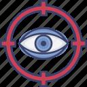 crosshairs, eye, seo, target, vision, visual