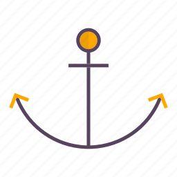 anchor, traffic icon
