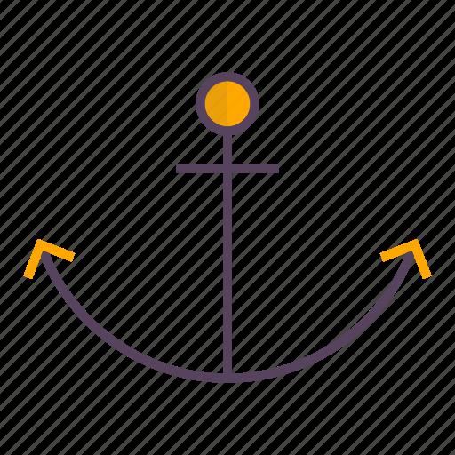 anchor, traffic icon