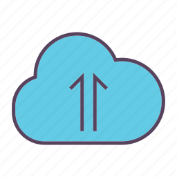 cloud, cloudy, info, storage, upload icon