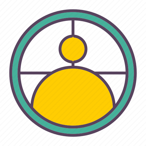 audience, business, marketing, seo, targeting icon