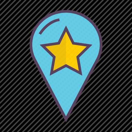 local, marketing, pin, seo icon