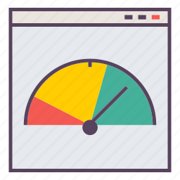 page, speed, website icon