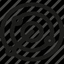 analysis, competitor, radar, connection, internet, network, seo icon