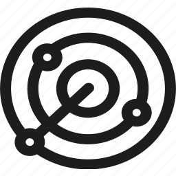 analysis, competitor, connection, internet, network, radar, seo icon