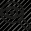 eye, seo, spy, find, optimization, search, view