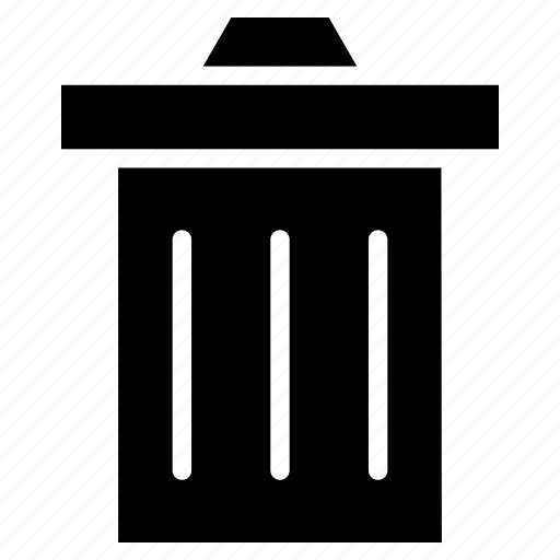 Delete, garbage, recycle bin, remove, trash icon - Download on Iconfinder