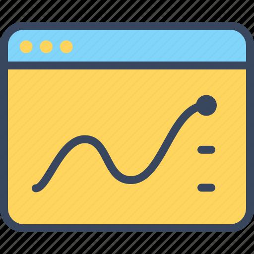 analysis, business, internet, market, seo, web icon
