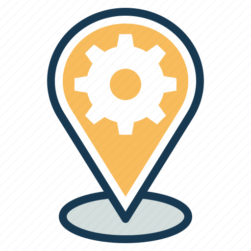 Gps, location, location services, pointer, seo, settings icon - Download on Iconfinder
