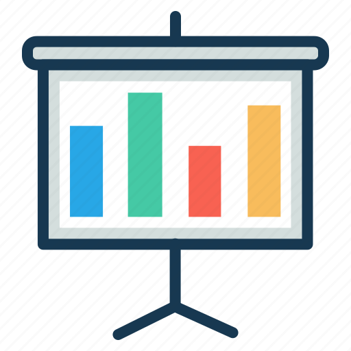 analysis, marketing, presentation, report, sales, statistics icon
