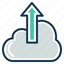 cloud computing, export, seo, service, storage, upload icon