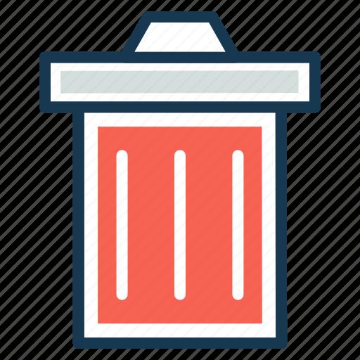 delete, garbage, recycle bin, remove, trash icon