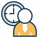 business, office, productivity, schedule, time, work icon
