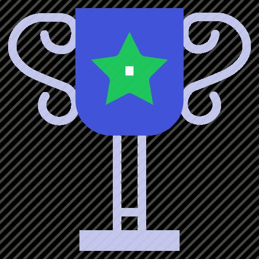 achievement, award, cup, reward, trophy icon