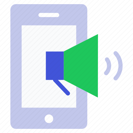 Megaphone, phone, promotion, seo marketing, speaker, volume icon - Download on Iconfinder