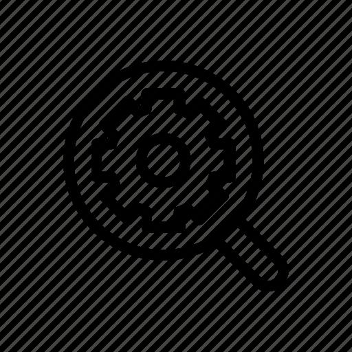 search, seo, settings, site, web icon