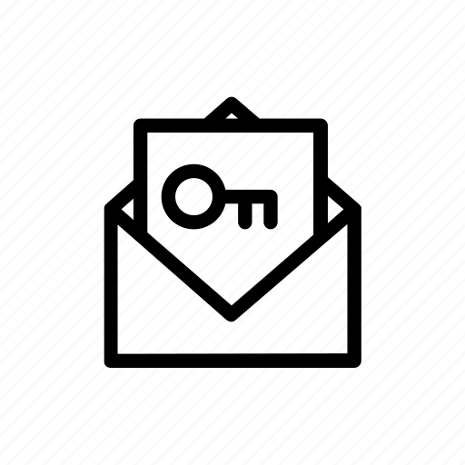 email, keyword, mail icon