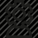 setting, user, avatar, gear, options, profile, settings