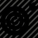achievement, aim, game, goal, plan, target icon