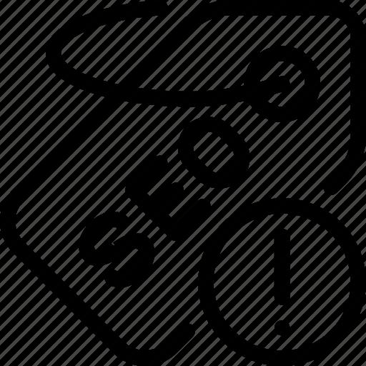 answer, label, optimization, seo, tag icon