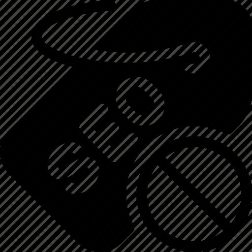 dismiss, label, optimization, seo, tag icon