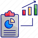 bar chart, dashboard, diagrams, metrics, pie chart, report, statistics icon