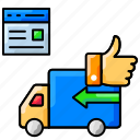 delivery, ecommerce, favorite, logistics, online shopping, order icon