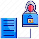 ethical hacking, hacker activity, hacking, penetration testing, security, security testing icon
