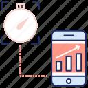 analytics, data, market research, performance, seo marketing, seo performance, statistics icon