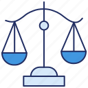 balance, balance scale, justice, measurement, weighing machine, weight icon