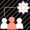 development, preferences, seo, settings, teamwork, user account icon