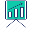 analytics, dashboard, presentation, seo, seo marketing, statistics icon