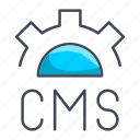 application, cms, coding, development, programming icon