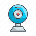 camera, device, record, video icon
