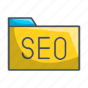 data, folder, optimization, seo icon