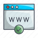 page, seo, web page, website icon