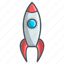 missile, optimization, rocket, seo icon