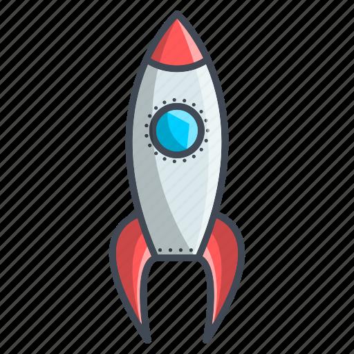 missile, optimization, rocket, seo icon