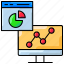 analytics, dashboard, graph, report, seo marketing, statistics icon