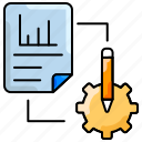 document, file, prototype, seo, statistics icon