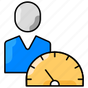 dashboard, metrics, performance, potential, productivity icon