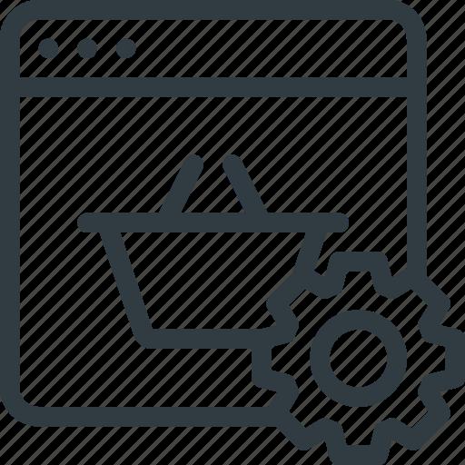 commerce, e, optimization, seo icon
